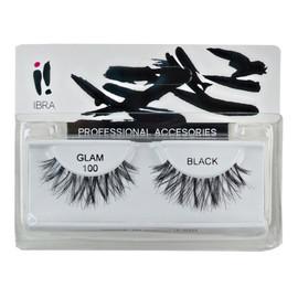 Para sztucznych rzęs na pasku Glam 100 Black