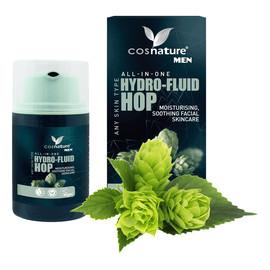 For Men Naturalny Nawilżający Fluid Z Wyciągiem Z Szyszek Chmielu