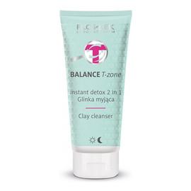 Glinka myjąca Instant Detox 2w1 do cery mieszanej