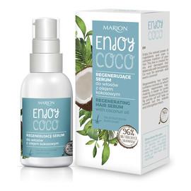 Regenerujące Serum do włosów z olejem kokosowym