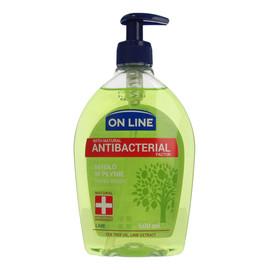 antybakteryjne mydło w płynie do rąk z dozownikiem Lime