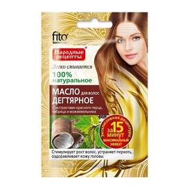 Olejek do włosów DZIEGCIOWY - stymulator wzrostu włosów, przeciwłupieżowy
