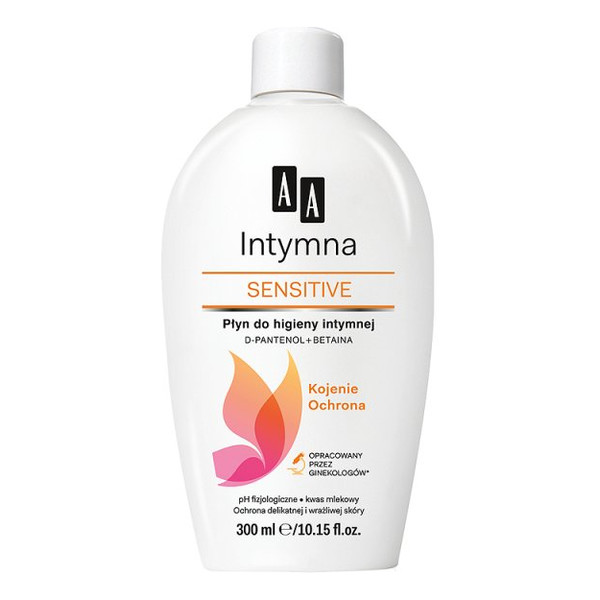 AA Sensitive Intymna Emulsja Do Higieny Intymnej 300ml