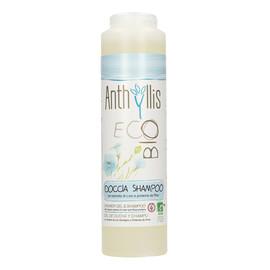 szampon i płyn-żel pod prysznic 2w1 z wyciągiem z lnu i proteinami ryżu