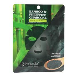 maseczka do twarzy w płachcie Bambus & Filipiński Węgiel Drzewny