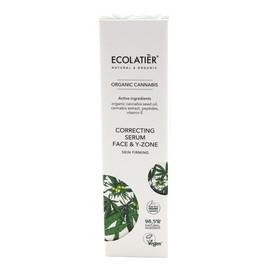 Organic Cannabis Serum-korektor ujędrniający do twarzy i szyi - cera wiotka