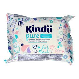 Pure Chusteczki oczyszczające dla niemowląt - travel 1op.-16szt