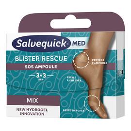 Blister Rescue Mix hydrożelowe plastry na pęcherze 6szt.