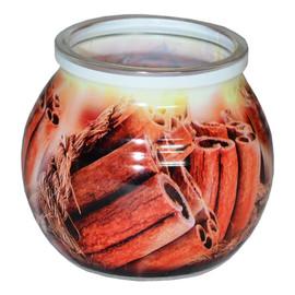 Świeca zapachowa CINNAMON szklanka powlekana