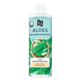 Aloes 100% aloe vera extract tonik regenerująco-kojący