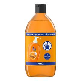 Mydło w płynie antybakteryjne Orange zapas