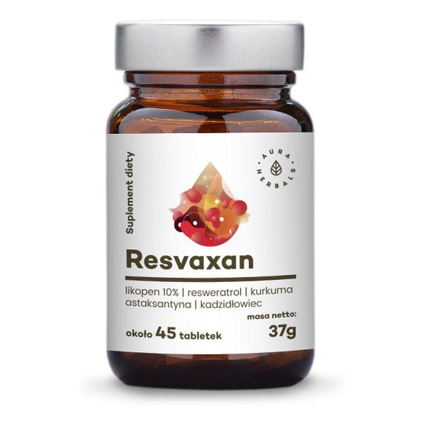 Aura Herbals Resvaxan suplement diety 45 tabletek