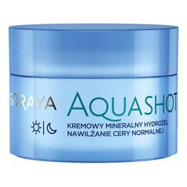 Aqua Shot Kremowy Mineralny Hydrożel do cery normalnej