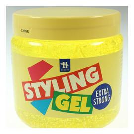 Żel do włosów żółty