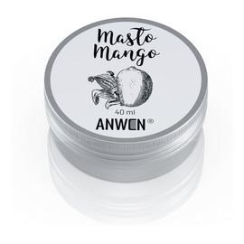 Masło mango do włosów wysokoporowatych
