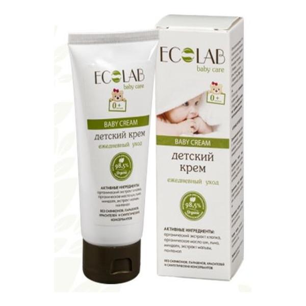Ecolab Ec Laboratorie Baby Care Krem Do Codziennej Pielęgnacji Dla Dzieci 0+ 100ml