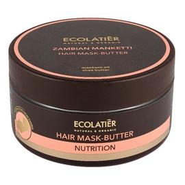 Odżywiająca maska-masło do włosów
