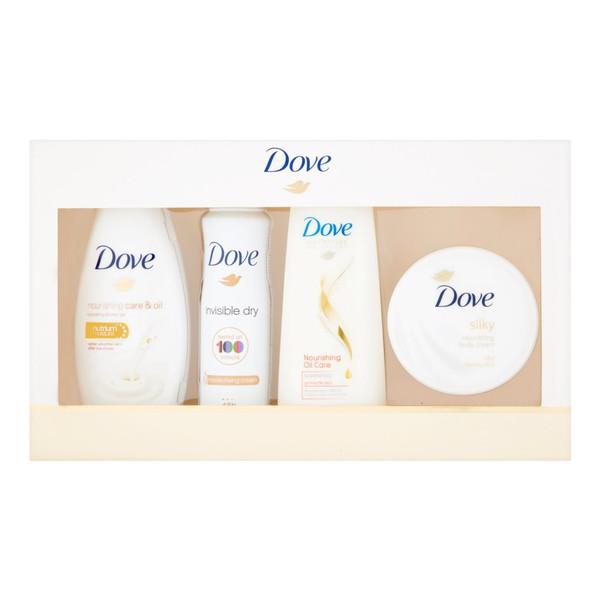 Dove Zestaw kosmetyków Żel + Dezodorant + Szampon + Krem Silk