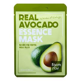 Real Avocado przeciwstarzeniowa maseczka w płachcie z ekstraktem z awokado